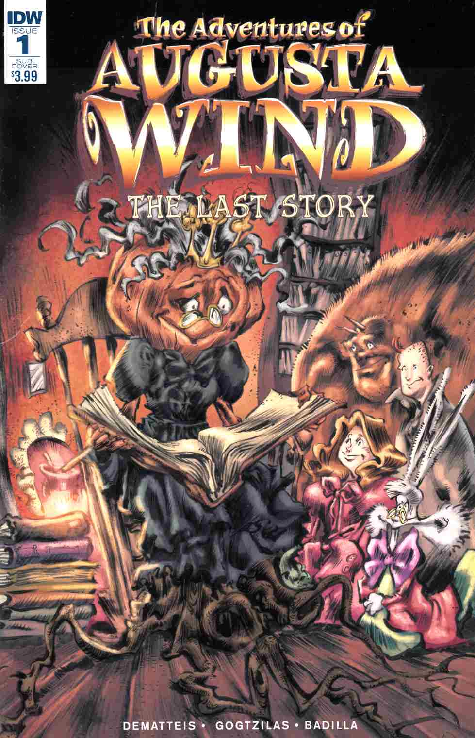 Adventures of Augusta Wind Last Story #1 Subscription Cover [IDW Comic]_LARGE