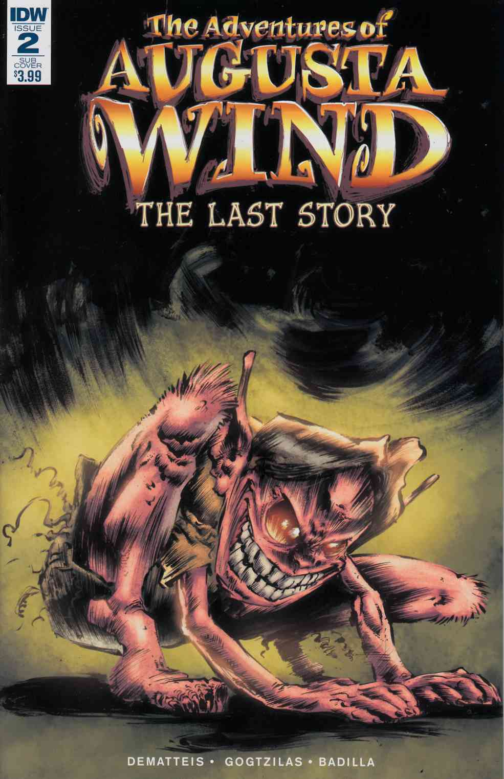 Adventures of Augusta Wind Last Story #2 Subscription Cover [IDW Comic]_LARGE