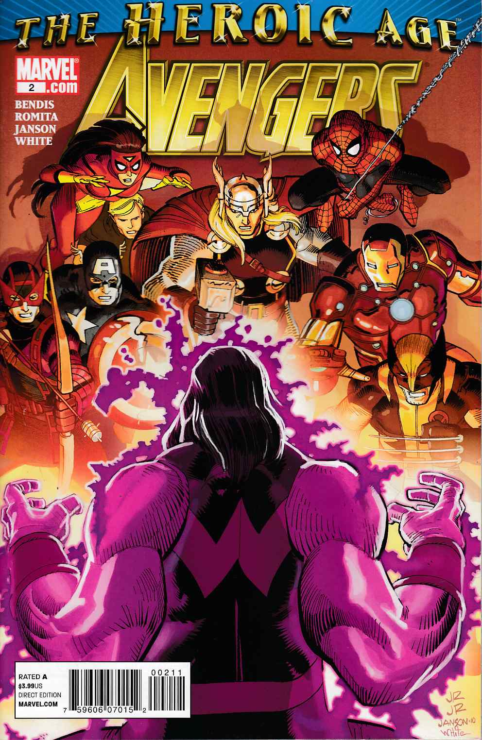 Avengers #2 Very Fine (8.0) [Marvel Comic]