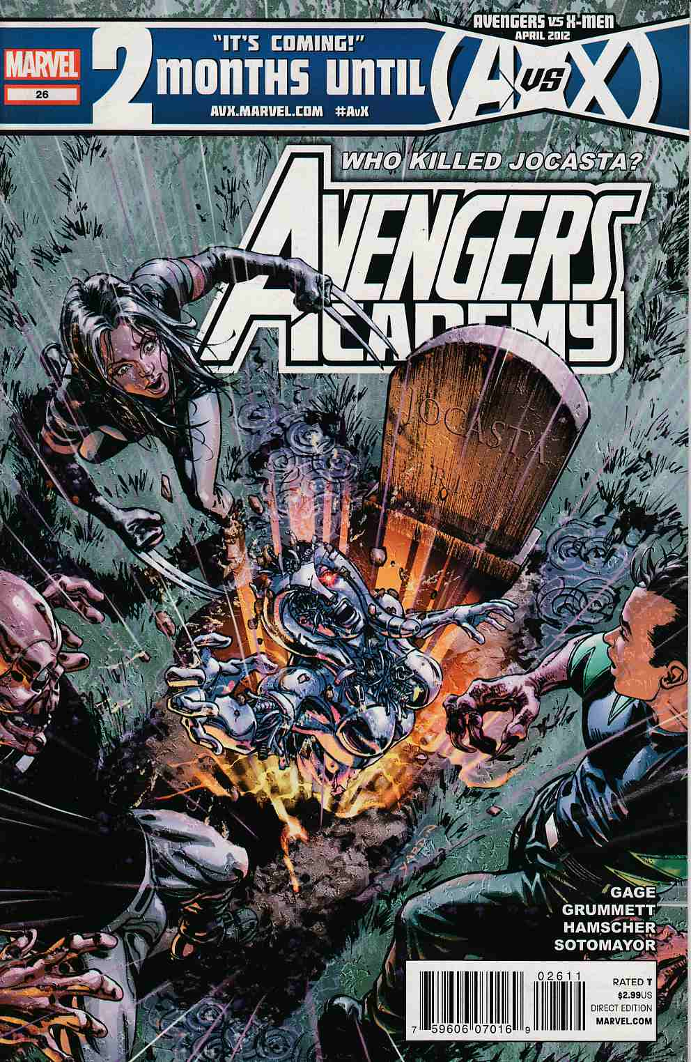 Avengers Academy #26 Near Mint (9.4) [Marvel Comic]_LARGE