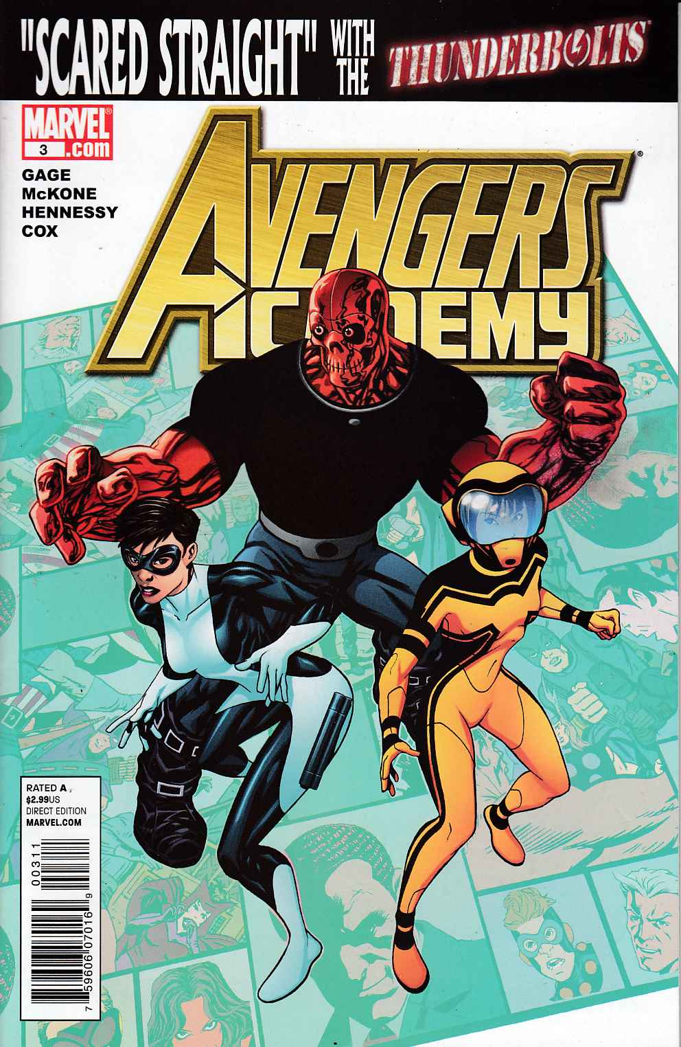 Avengers Academy #3 Near Mint (9.4) [Marvel Comic]_THUMBNAIL