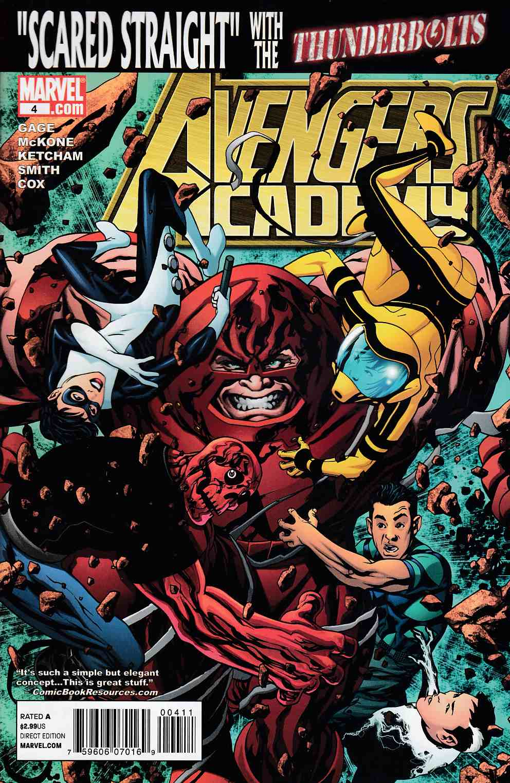 Avengers Academy #4 Near Mint (9.4) [Marvel Comic]_THUMBNAIL