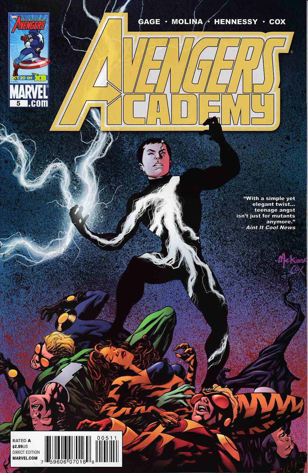 Avengers Academy #5 Near Mint Minus (9.2) [Marvel Comic]_THUMBNAIL