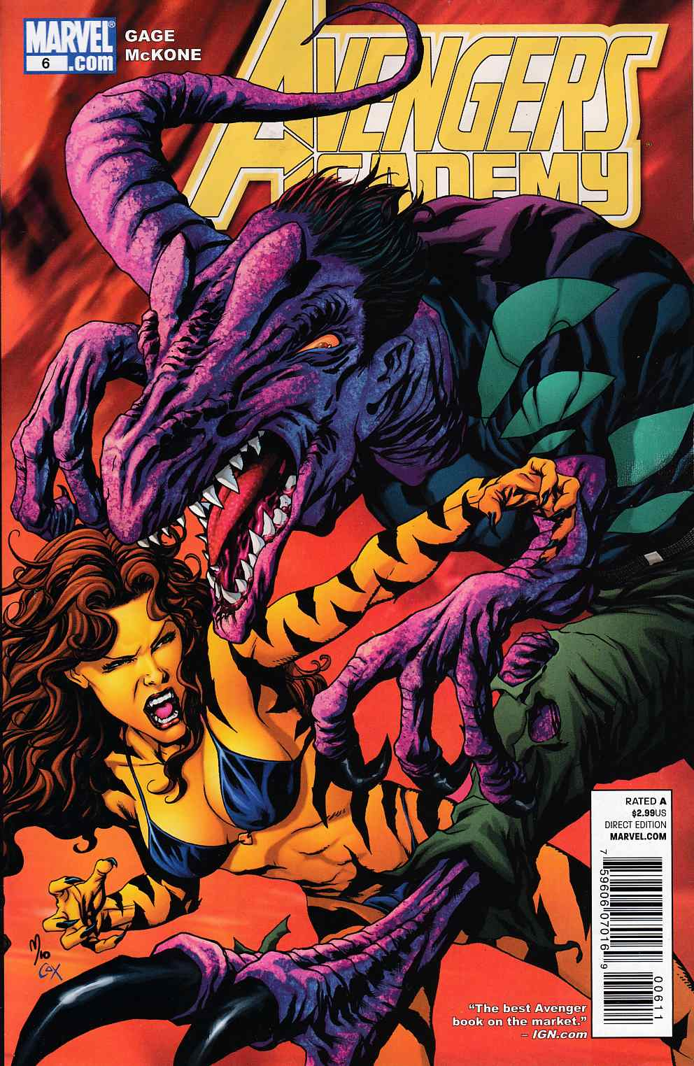 Avengers Academy #6 Near Mint Minus (9.2) [Marvel Comic]_THUMBNAIL