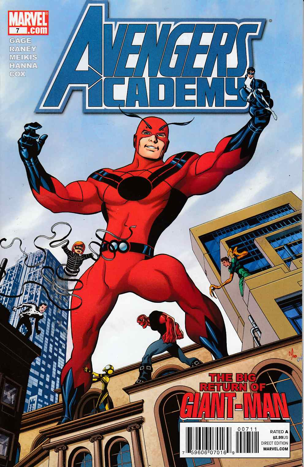Avengers Academy #7 Near Mint (9.4) [Marvel Comic]_THUMBNAIL