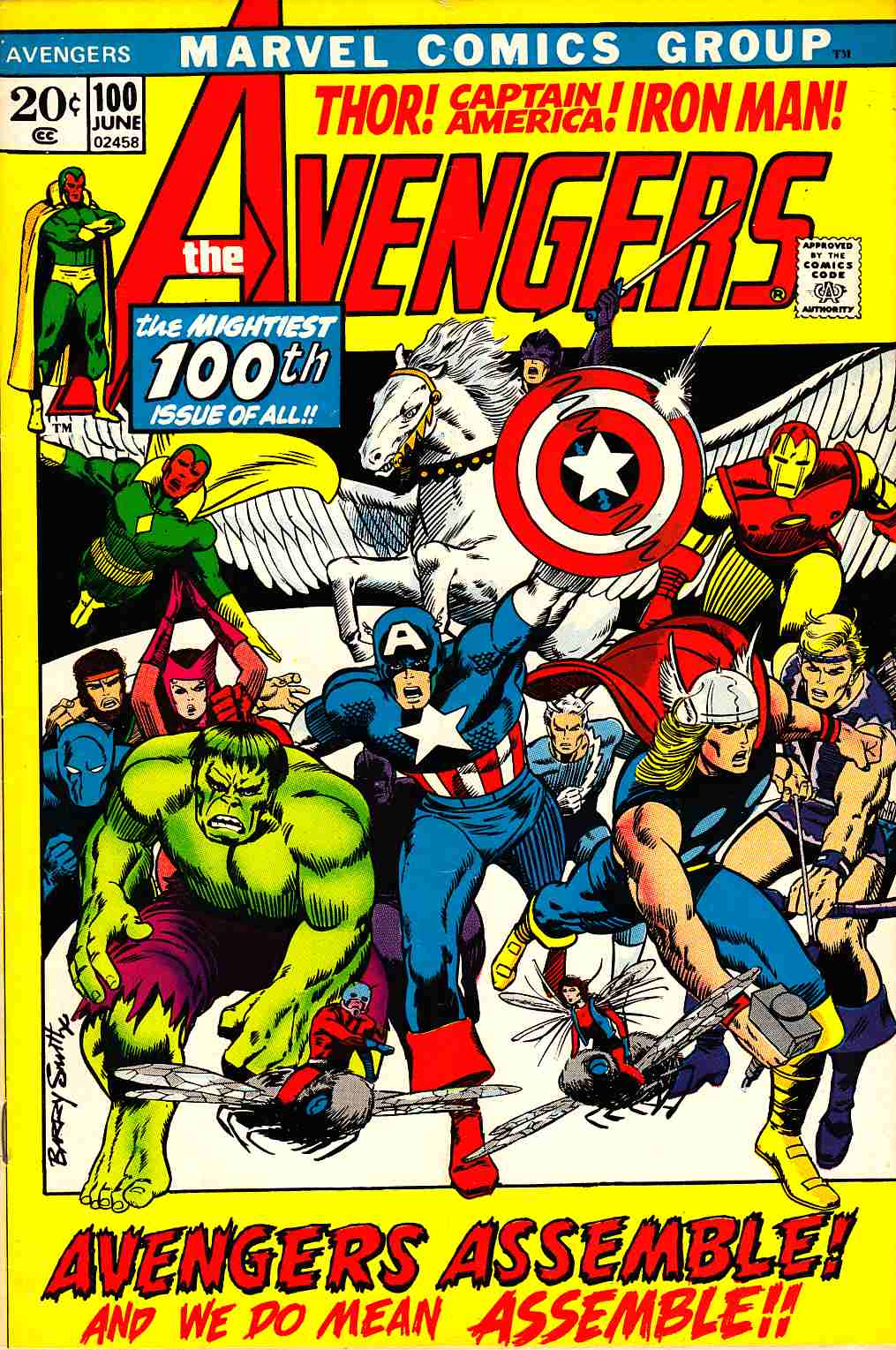 Avengers #100 Very Fine (8.0) [Marvel Comic] LARGE
