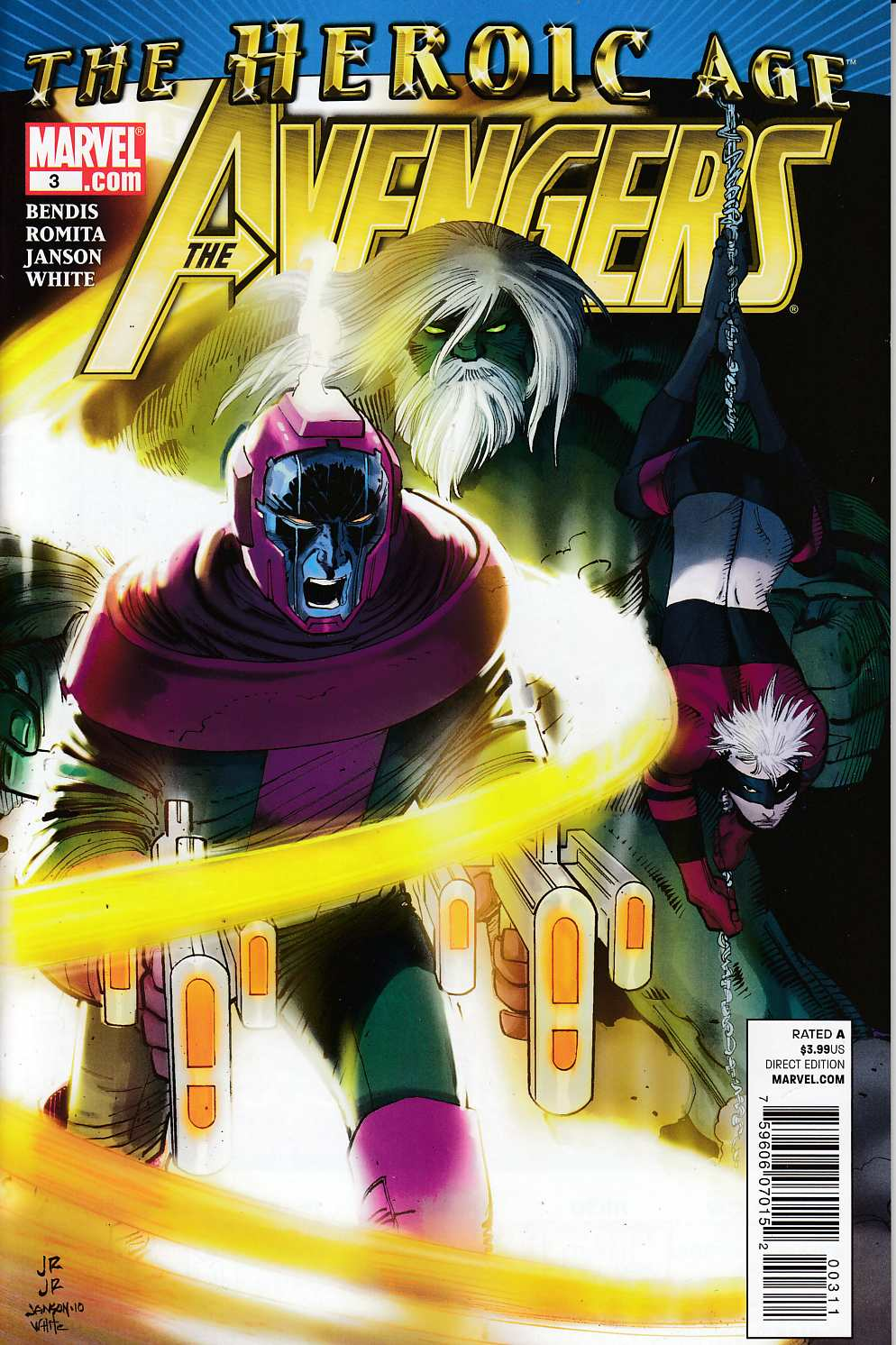 Avengers #3 Very Fine (8.0) [Marvel Comic]