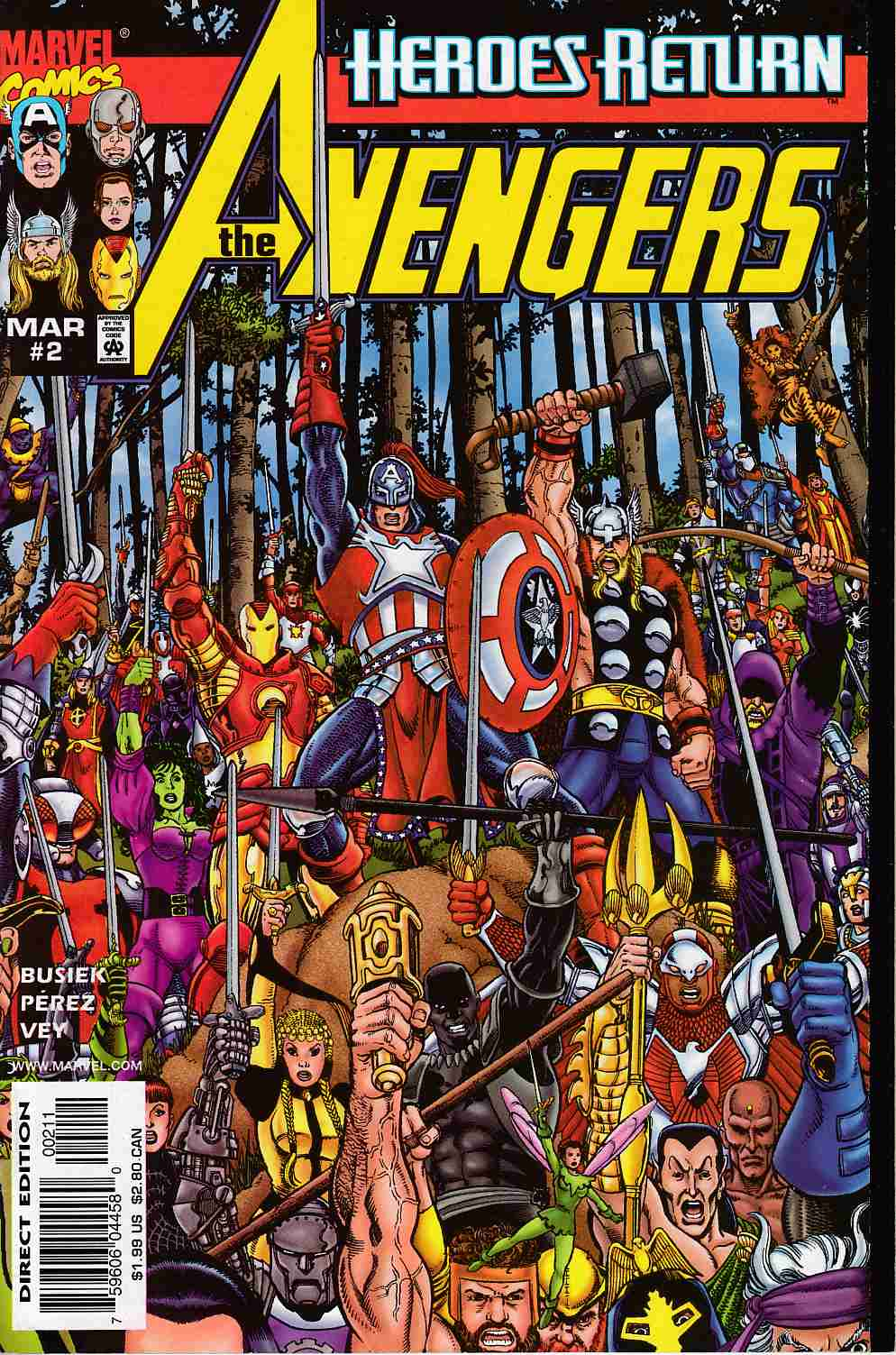 Avengers #2 Cover A Near Mint (9.4) [Marvel Comic] THUMBNAIL