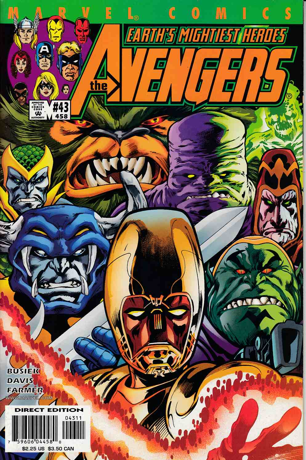 Avengers #43 Near Mint (9.4) [Marvel Comic] LARGE