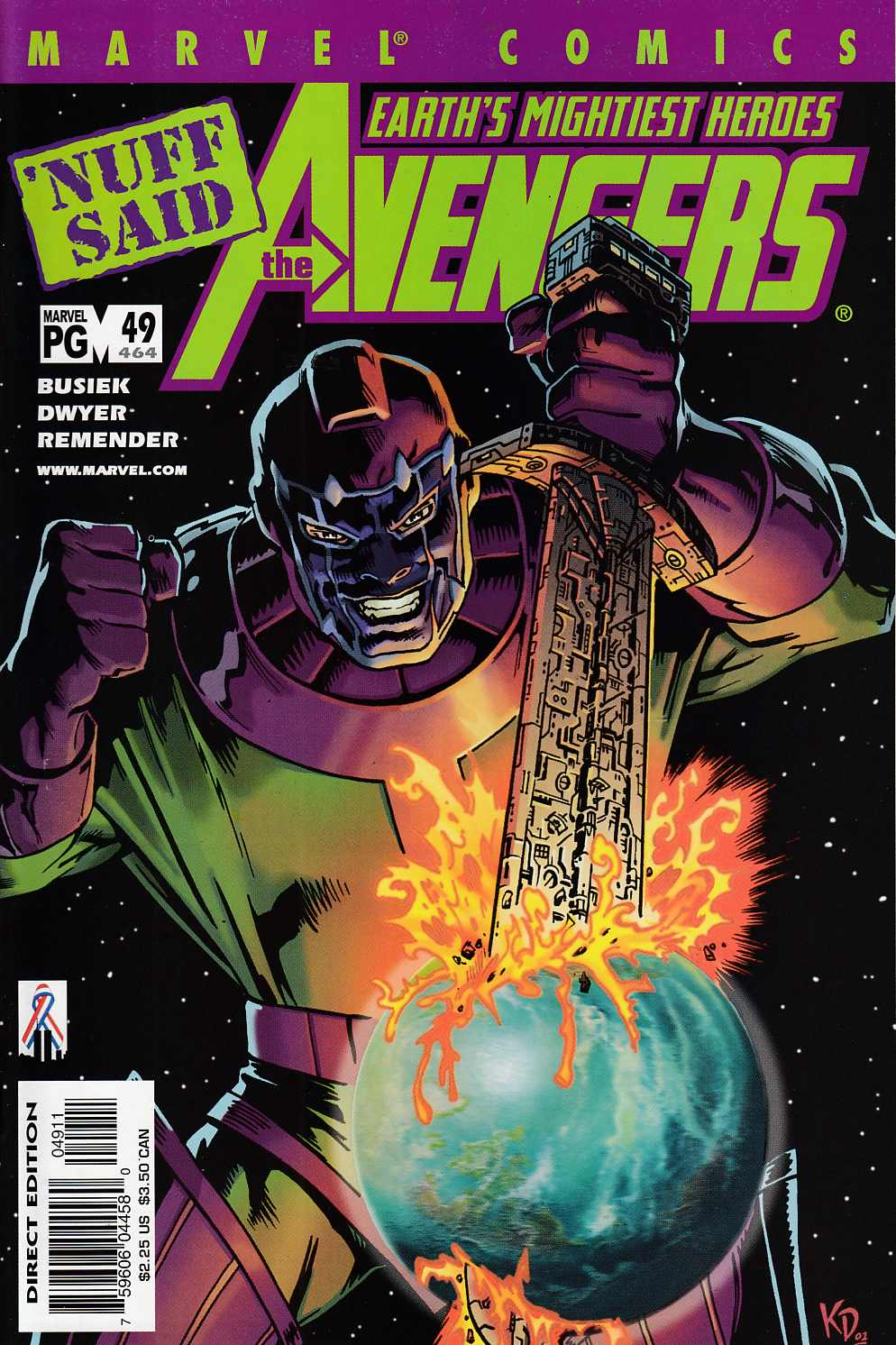 Avengers #49 Near Mint (9.4) [Marvel Comic] LARGE