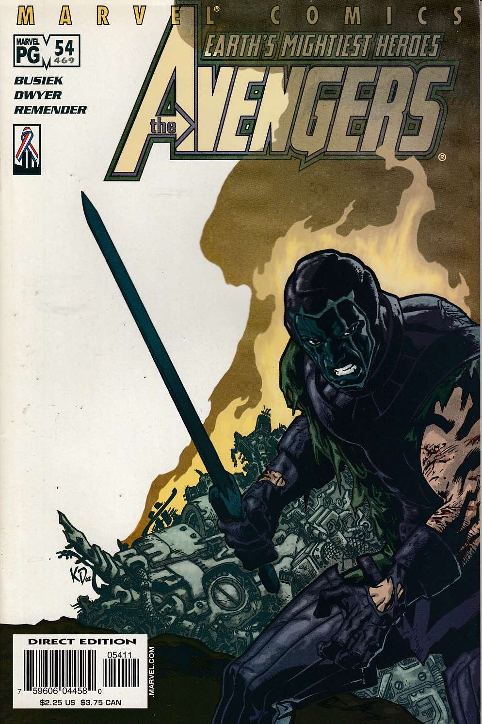 Avengers #54 Very Fine (8.0) [Marvel Comic] LARGE
