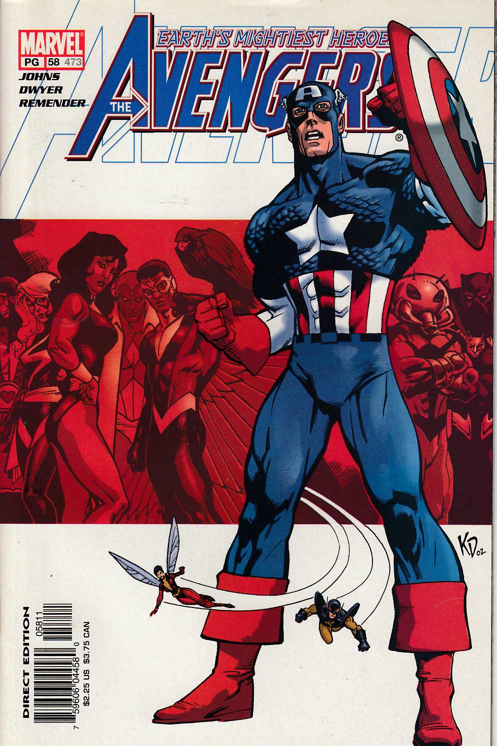 Avengers #58 Near Mint (9.4) [Marvel Comic] LARGE