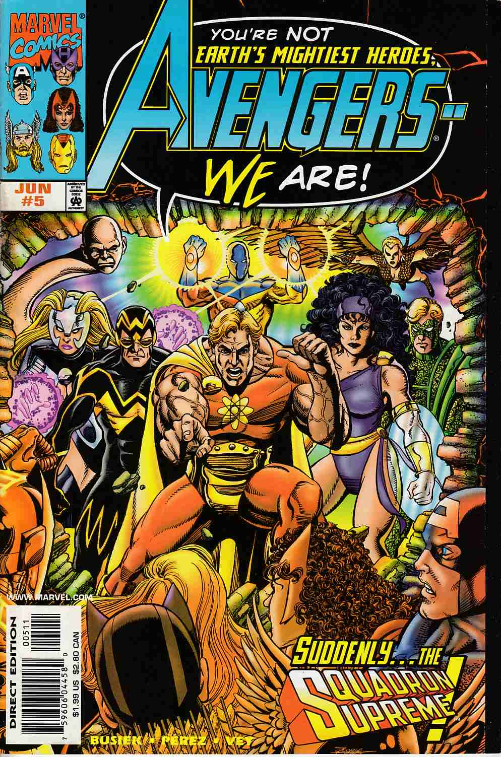 Avengers #5 Near Mint (9.4) [Marvel Comic] THUMBNAIL