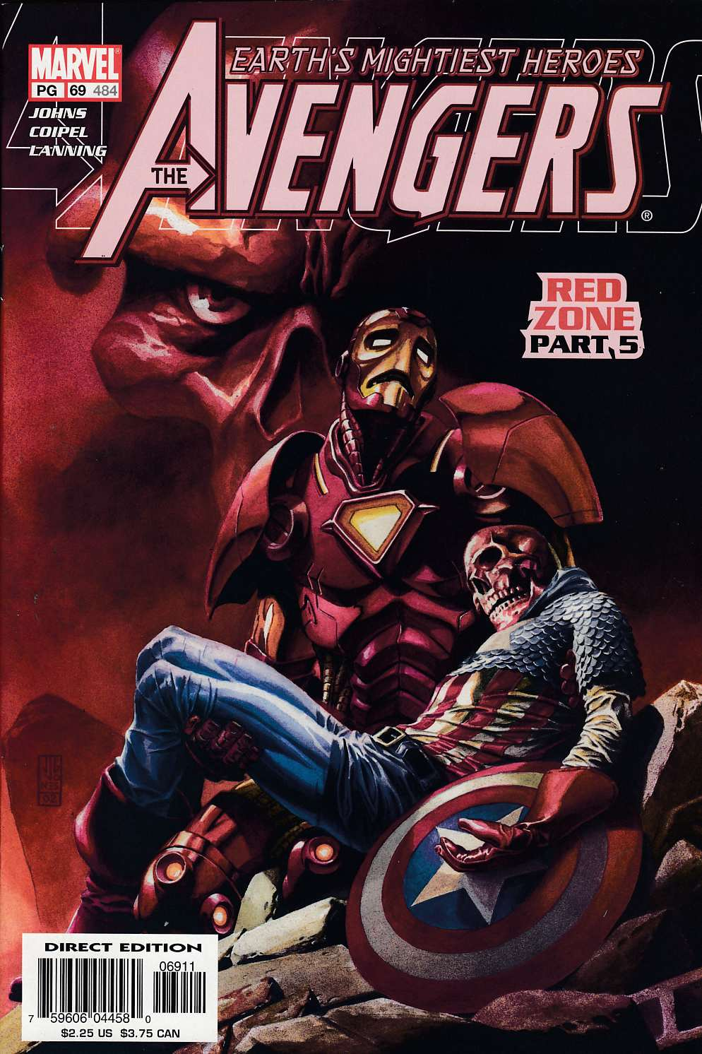 Avengers #69 Near Mint (9.4) [Marvel Comic] LARGE