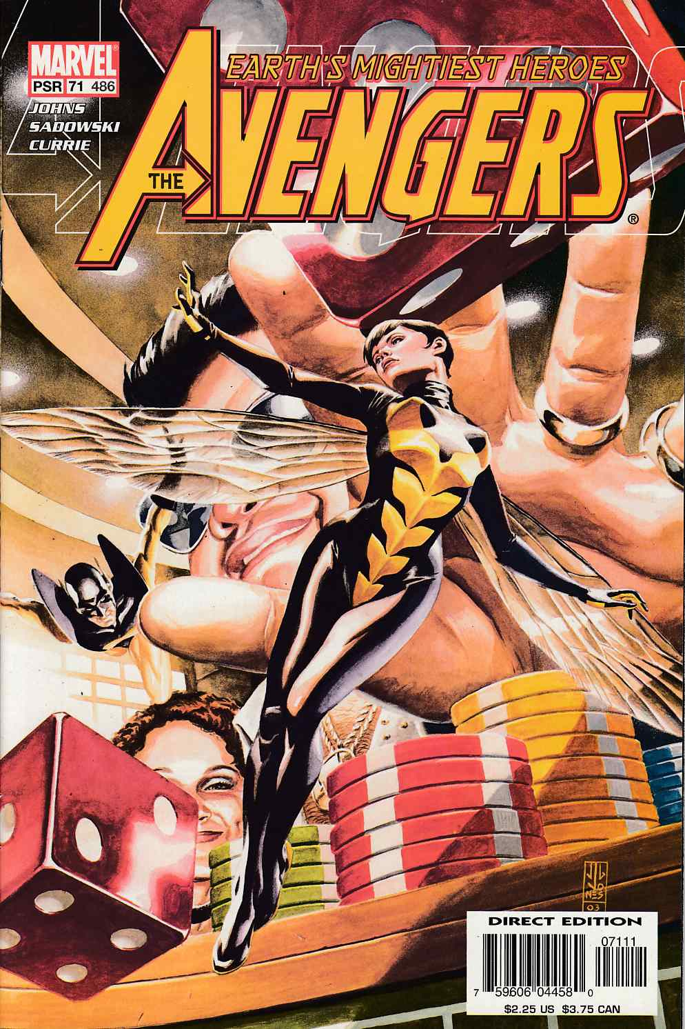 Avengers #71 Near Mint (9.4) [Marvel Comic] LARGE