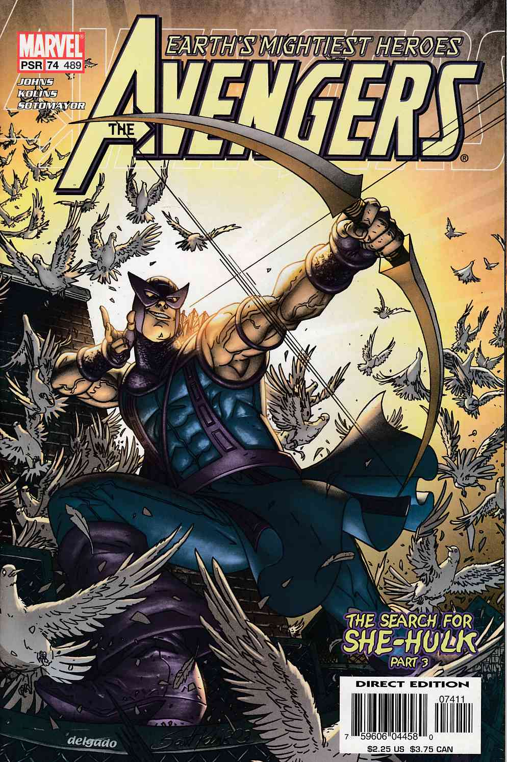Avengers #74 Near Mint (9.4) [Marvel Comic] LARGE