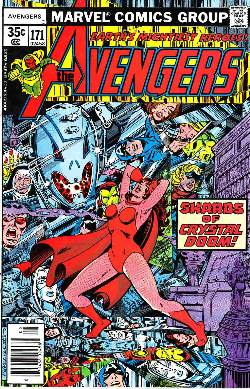 Avengers #171 Fine/Very Fine (7.0) [Marvel Comic] LARGE