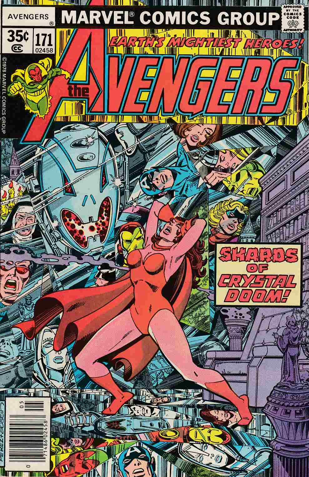Avengers #171 Very Fine (8.0) [Marvel Comic]