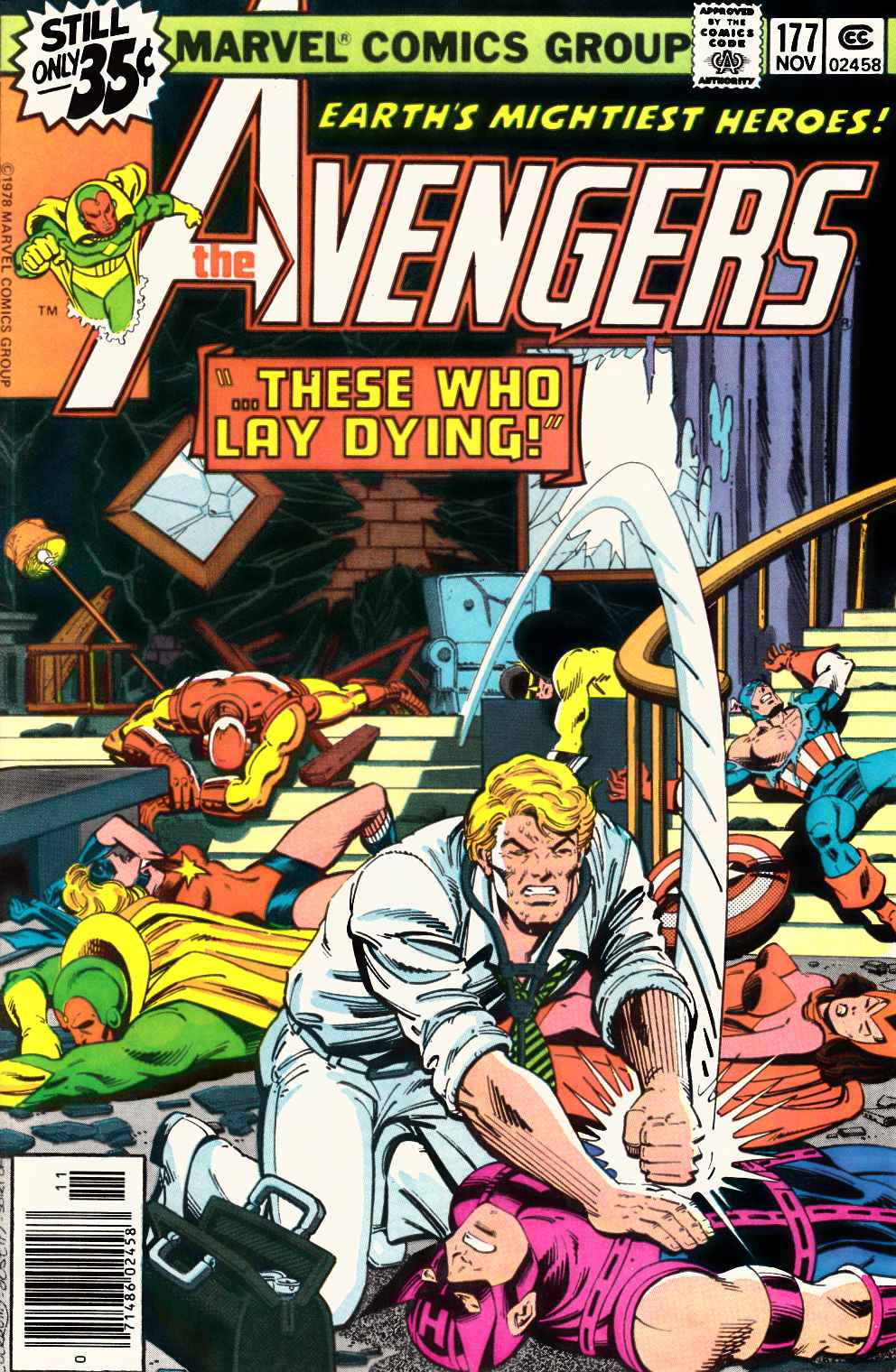 Avengers #177 Very Fine Plus (8.5) [Marvel Comic]