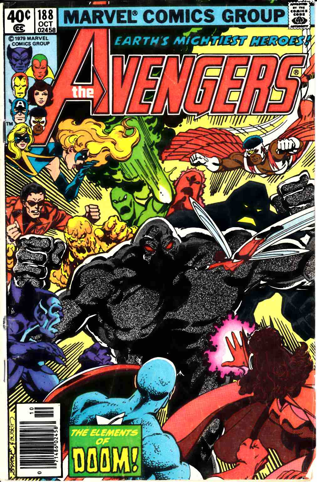 Avengers #188 Newsstand Edition Good/Very Good (3.0) [Marvel Comic] LARGE