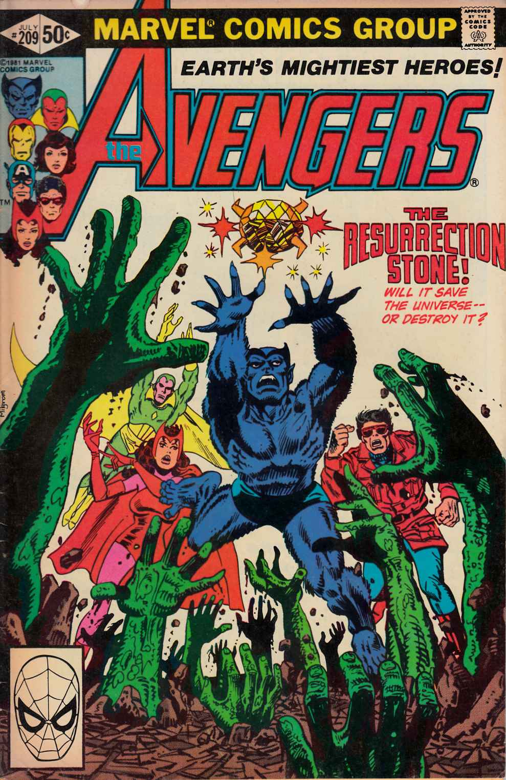 Avengers #209 Very Good/Fine (5.0) [Marvel Comic] LARGE