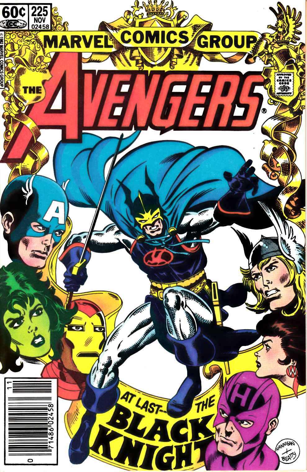 Avengers #225 Newsstand Edition Very Fine (8.0) [Marvel Comic] LARGE
