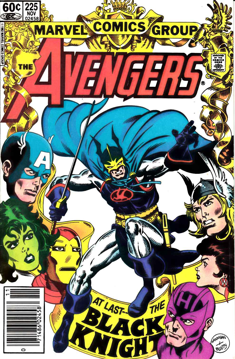 Avengers #225 Newsstand Edition Fine (6.0) [Marvel Comic] LARGE