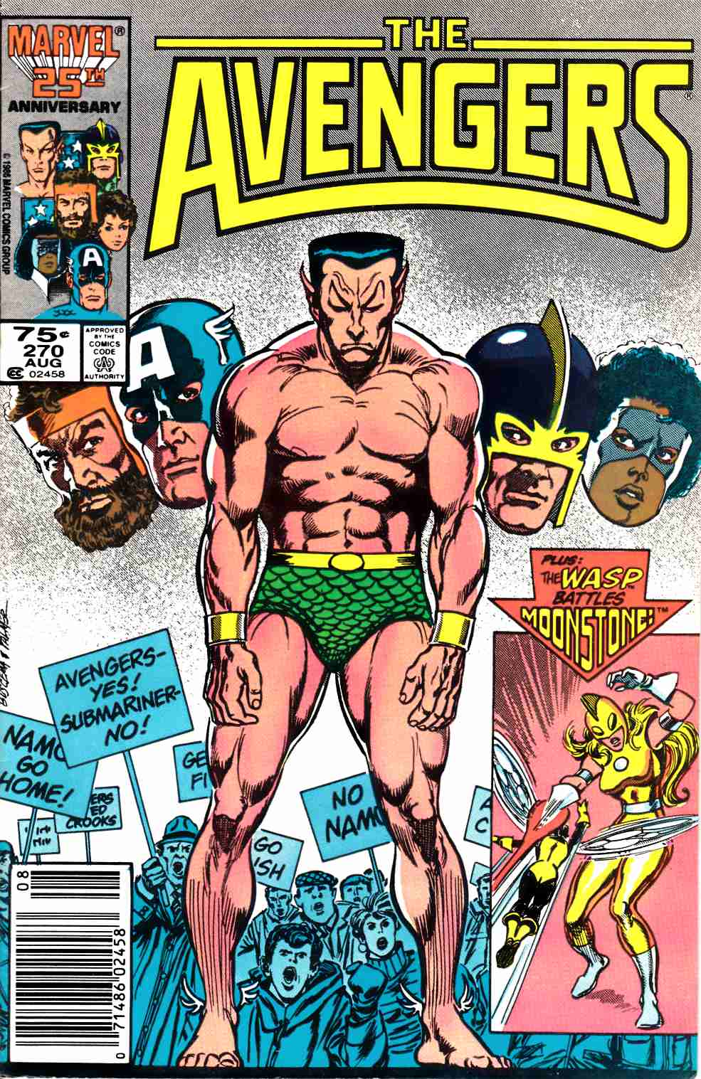 Avengers #270 Newsstand Edition Fine (6.0) [Marvel Comic] LARGE