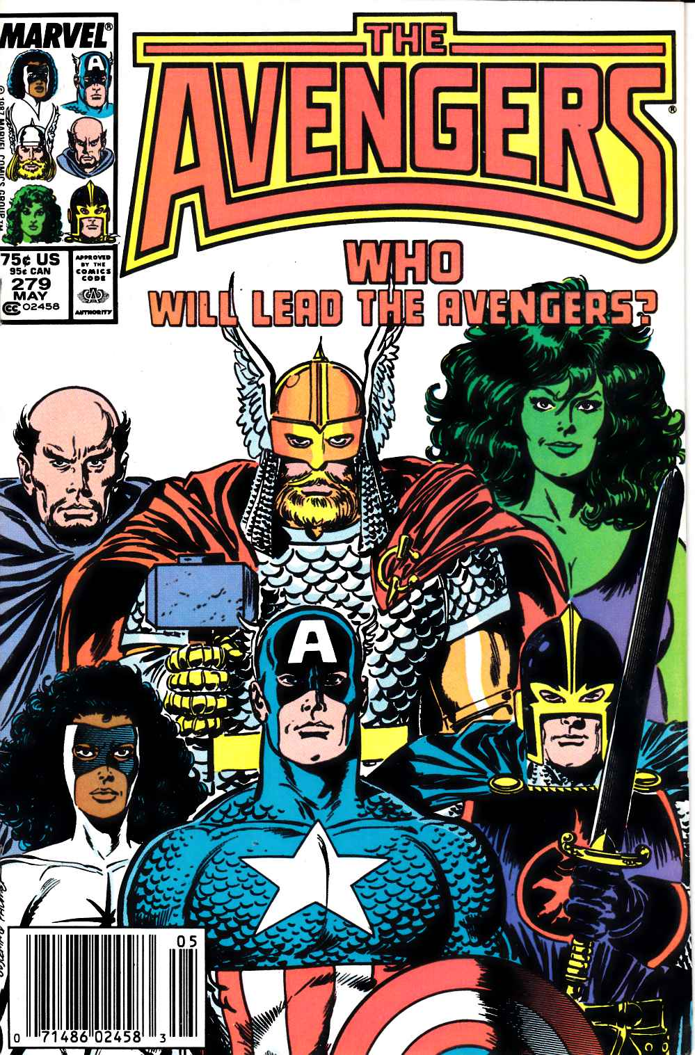 Avengers #279 Newsstand Edition Very Fine (8.0) [Marvel Comic] LARGE