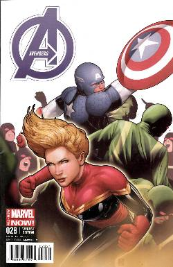 Avengers #28 Captain America Team Up Variant Cover [Comic] LARGE