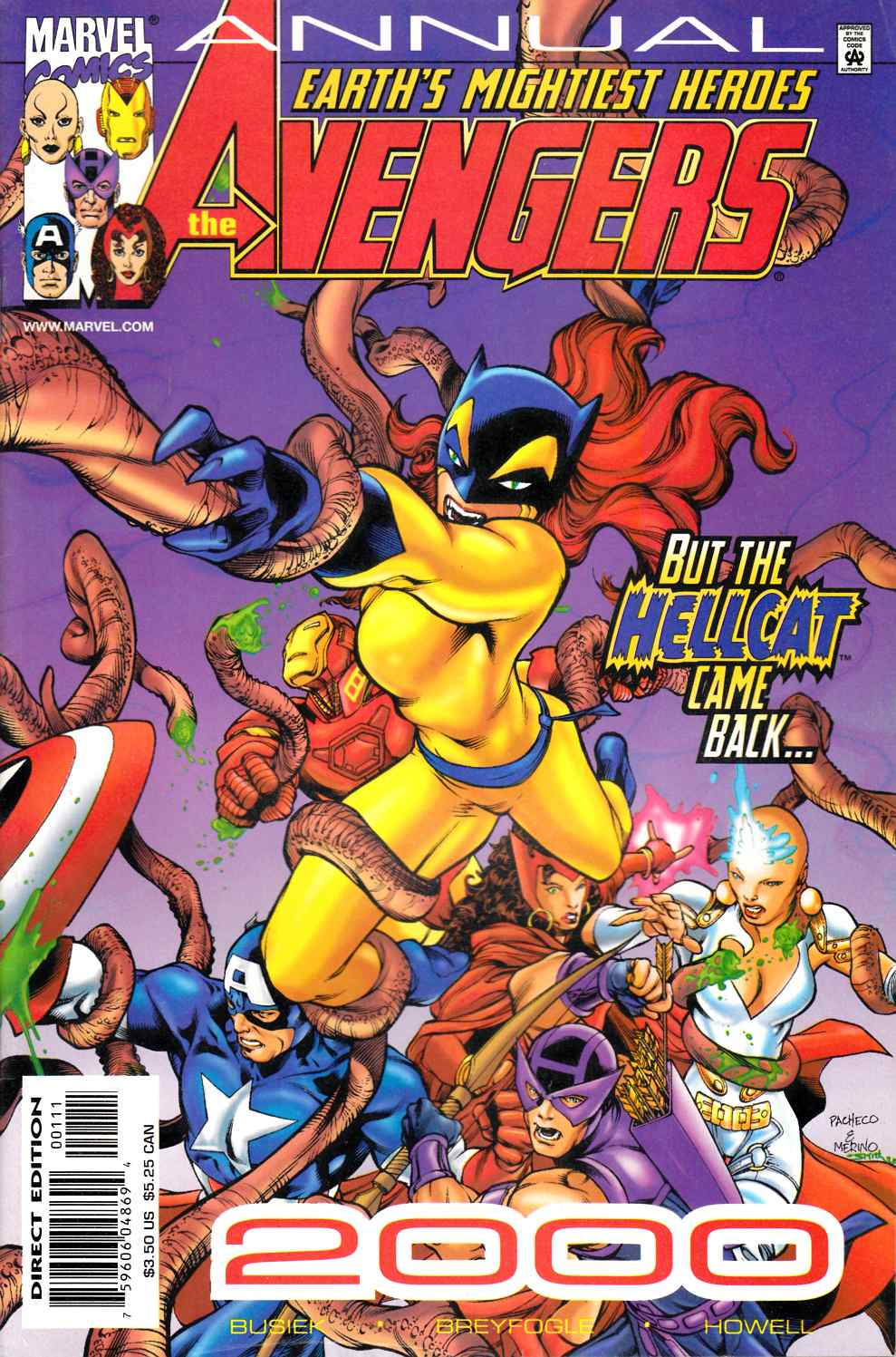 Avengers Annual 2000 (One Shot) Very Fine (8.0) [Marvel Comic] LARGE