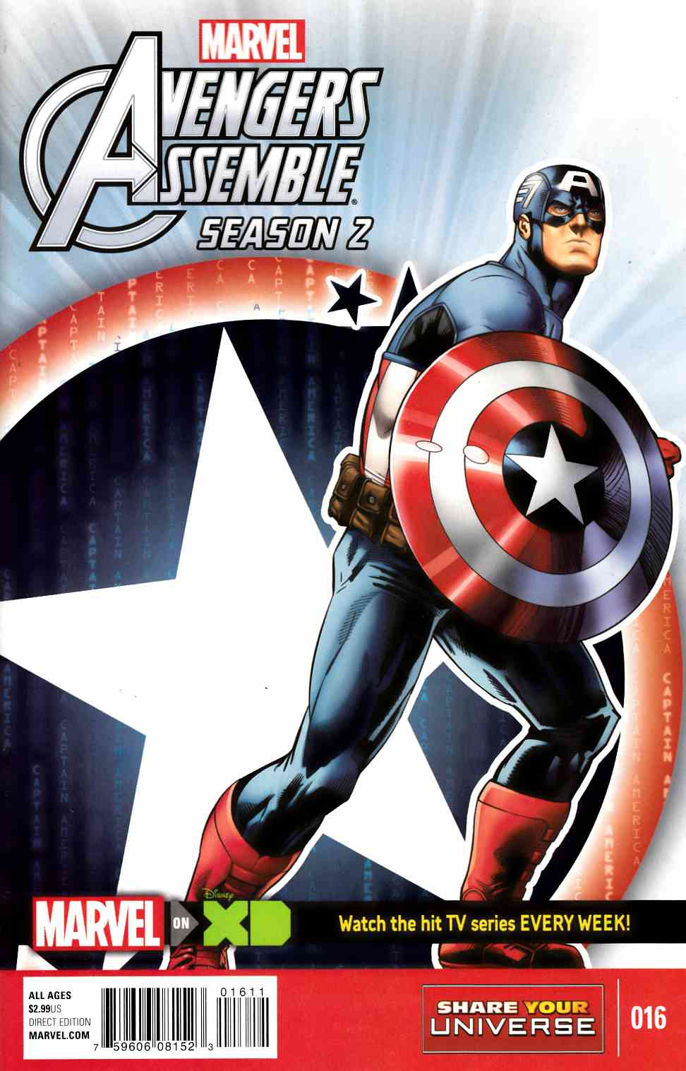 Marvel Universe Avengers Assemble Season Two #16 [Marvel Comic] LARGE