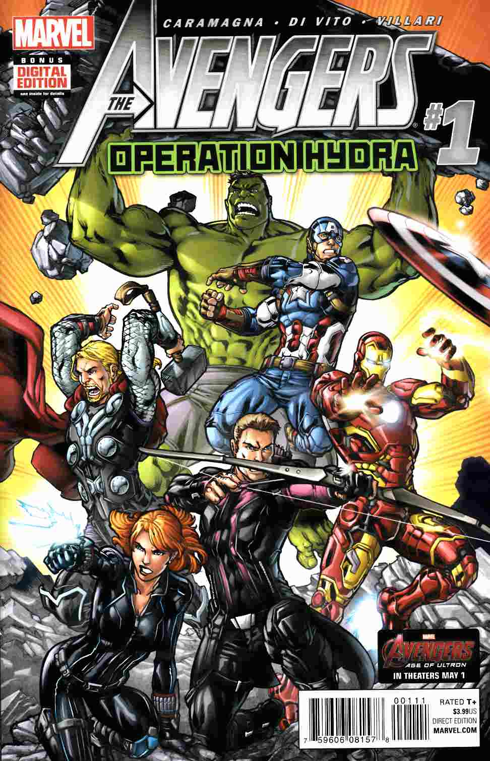 Avengers Operation Hydra #1 [Marvel Comic] THUMBNAIL