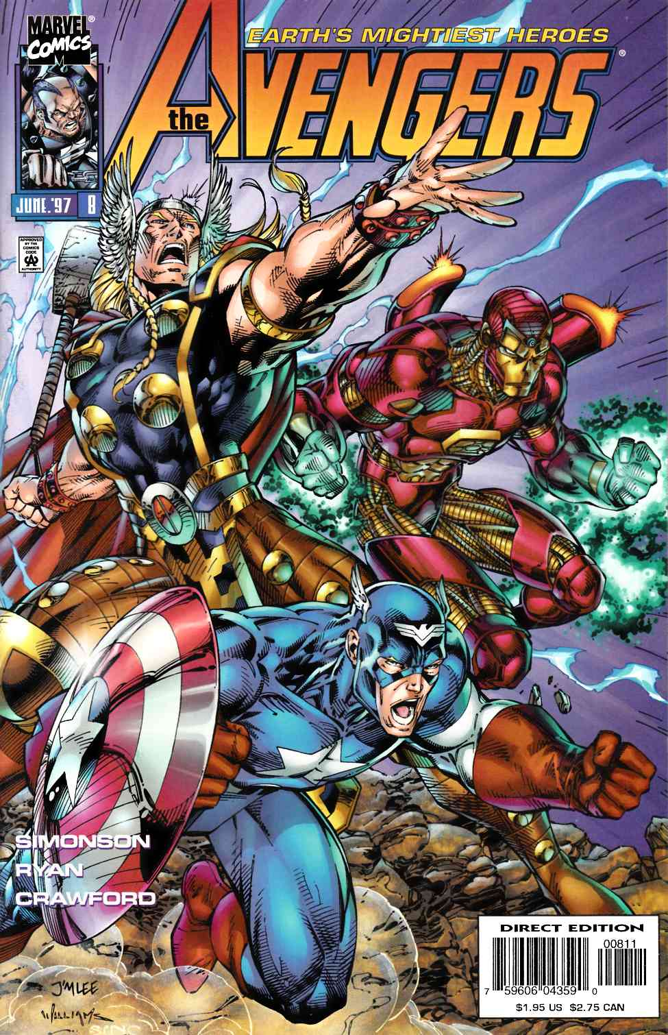 Avengers #8 Near Mint (9.4) [Marvel Comic] THUMBNAIL