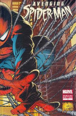 Avenging Spider-Man #1 Quesada Variant Cover [Comic]_LARGE