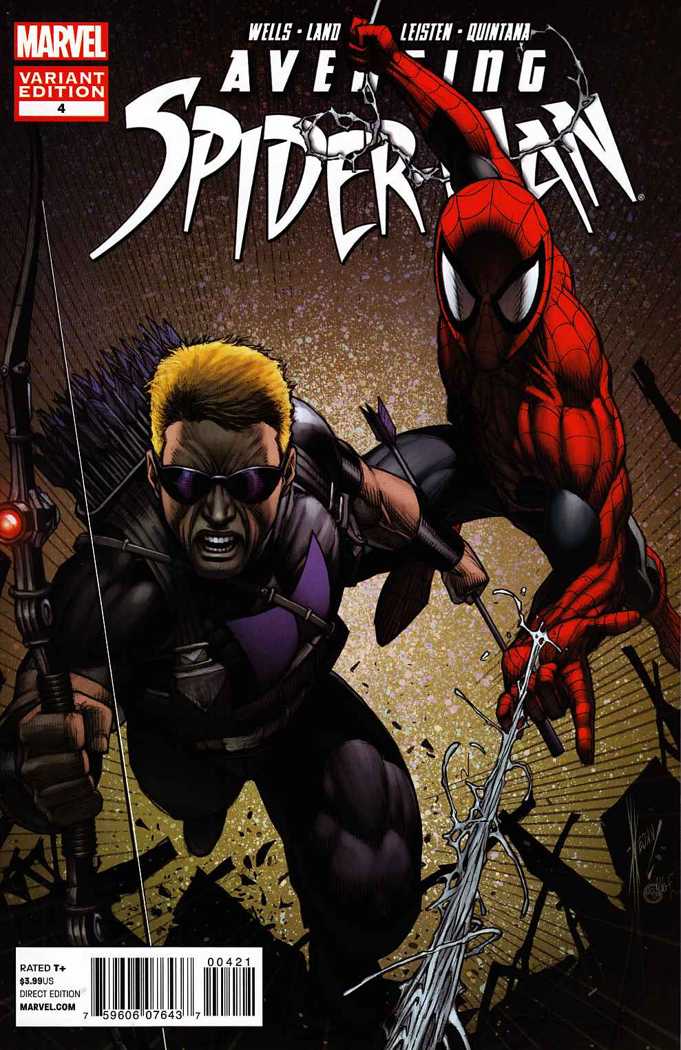 Avenging Spider-Man #4 Keown Variant Cover [Comic] THUMBNAIL