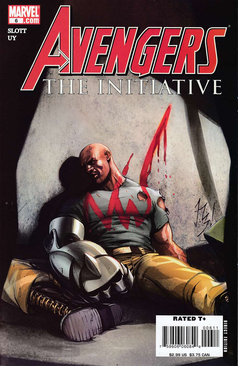 Avengers Initiative #6 Near Mint (9.4) [Marvel Comic]