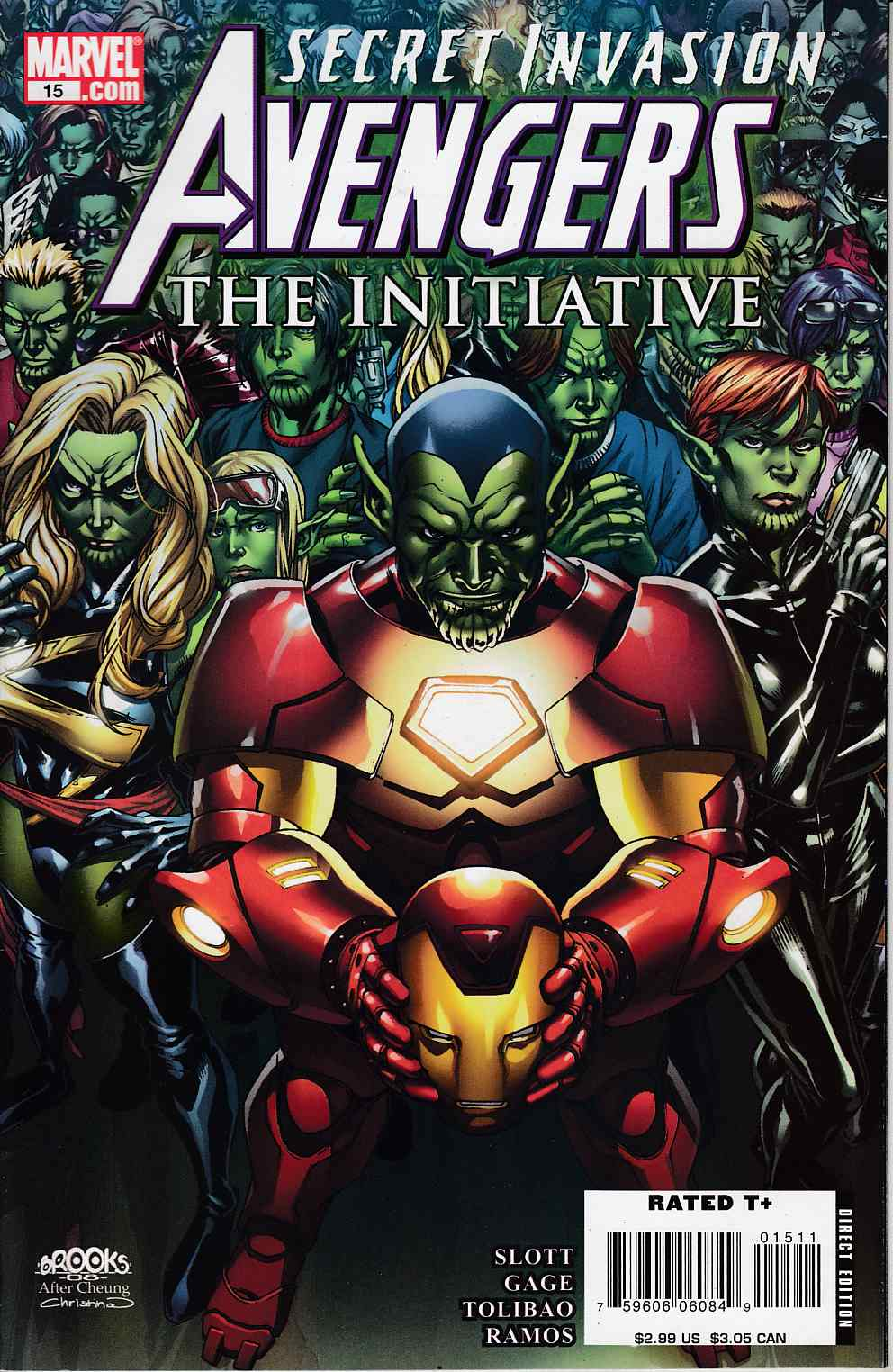 Avengers Initiative #15 Near Mint (9.4) [Marvel Comic]