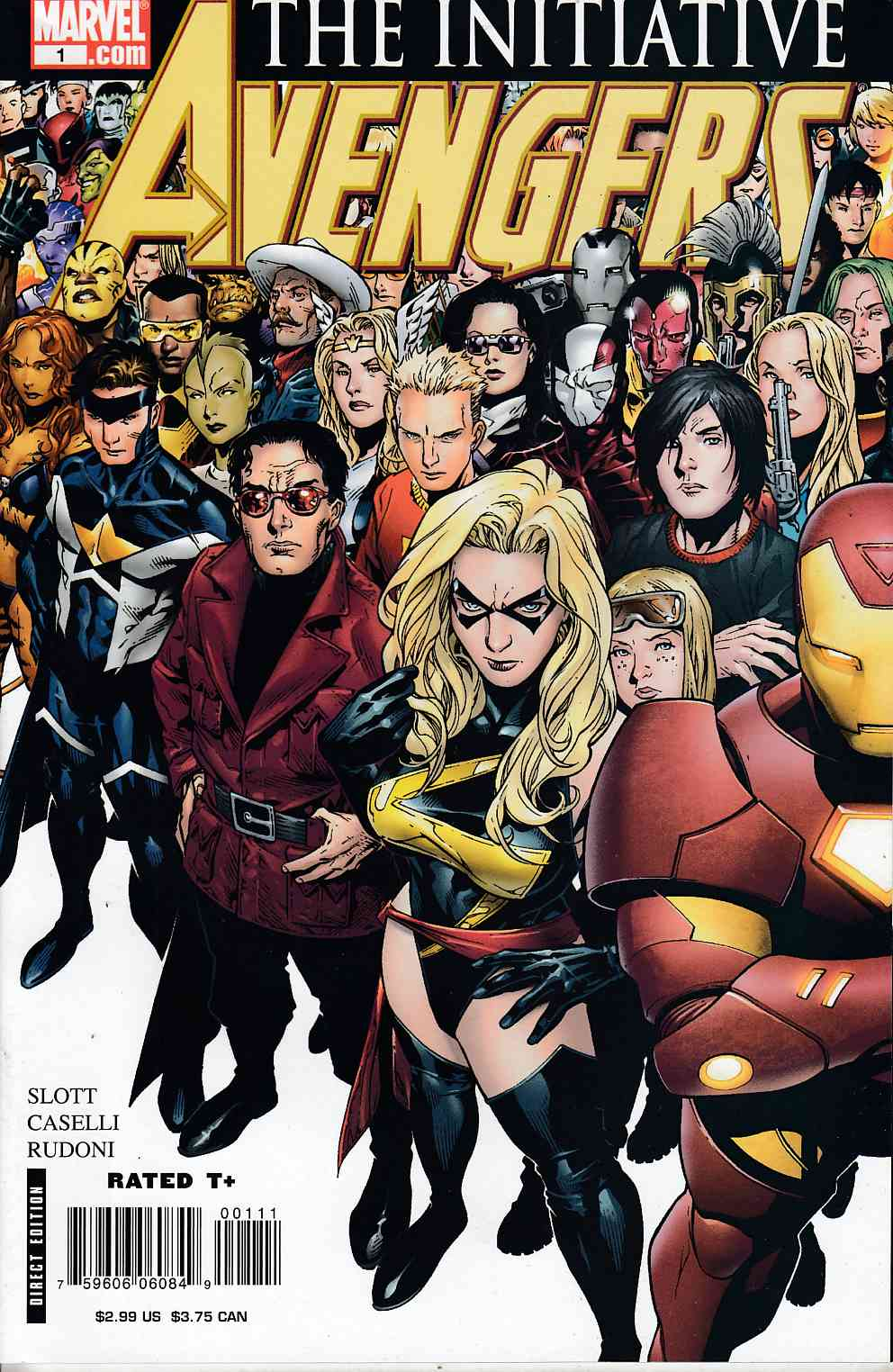 Avengers Initiative #1 Near Mint (9.4) [Marvel Comic]
