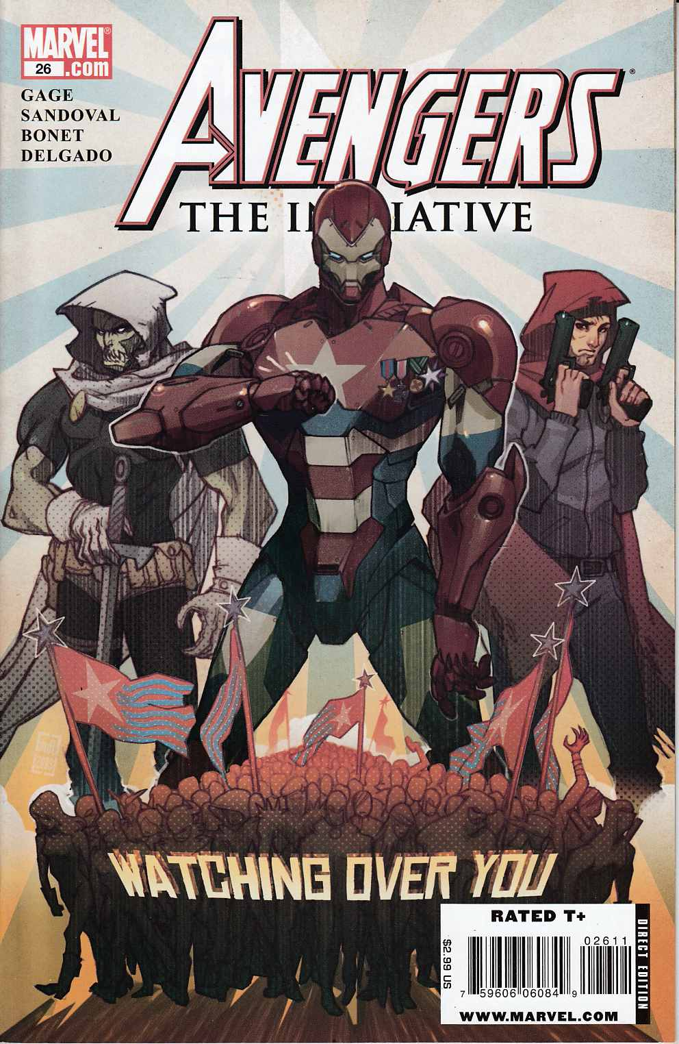 Avengers Initiative #26 Near Mint (9.4) [Marvel Comic]