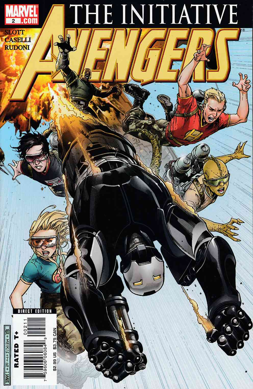 Avengers Initiative #2 Near Mint Minus (9.2) [Marvel Comic]