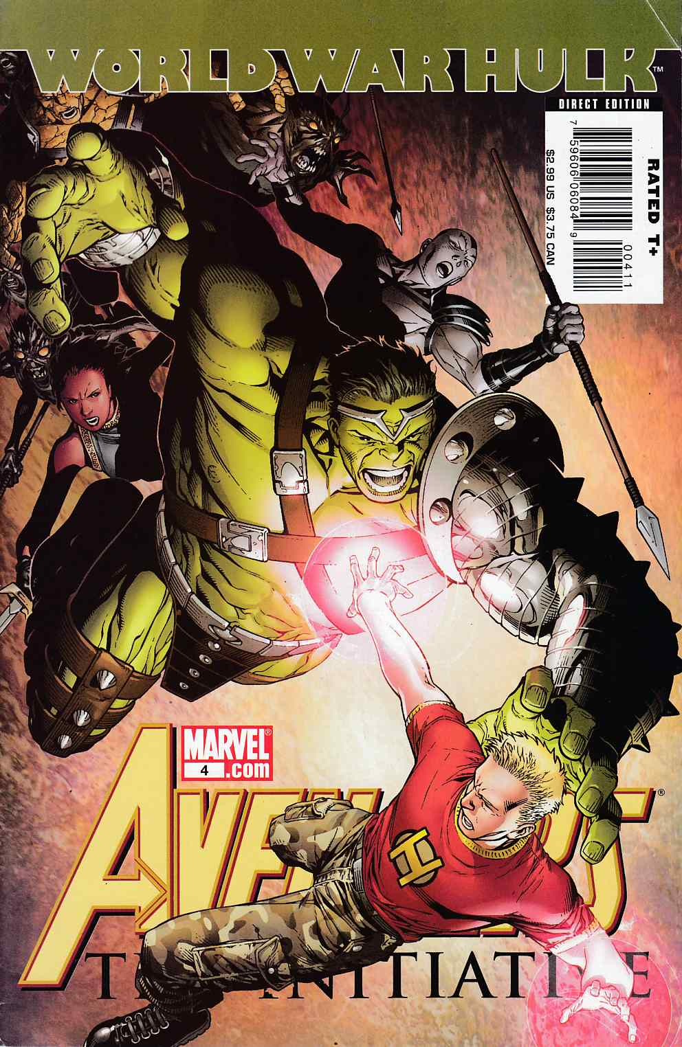 Avengers Initiative #4 Very Fine (8.0) [Marvel Comic] LARGE