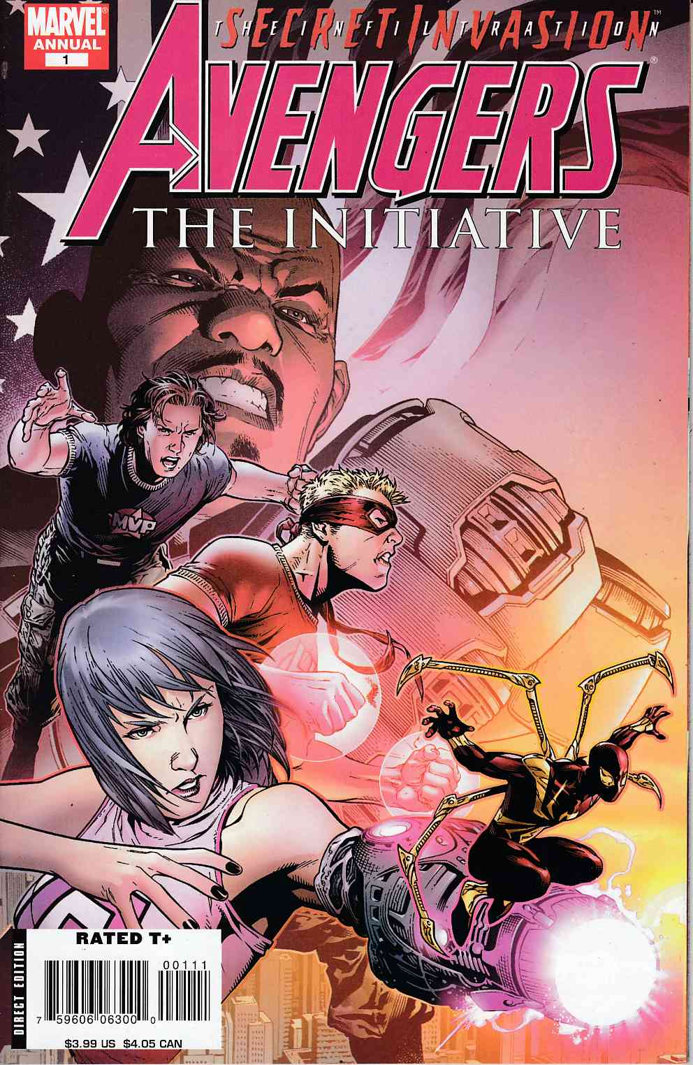Avengers Initiative Annual #1 Very Fine (8.0) [Marvel Comic]_LARGE