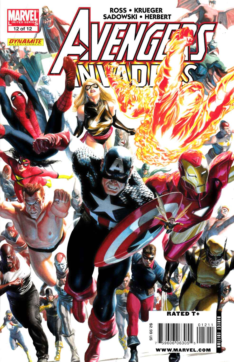 Avengers Invaders #12 Near Mint (9.4) [Marvel Comic] THUMBNAIL