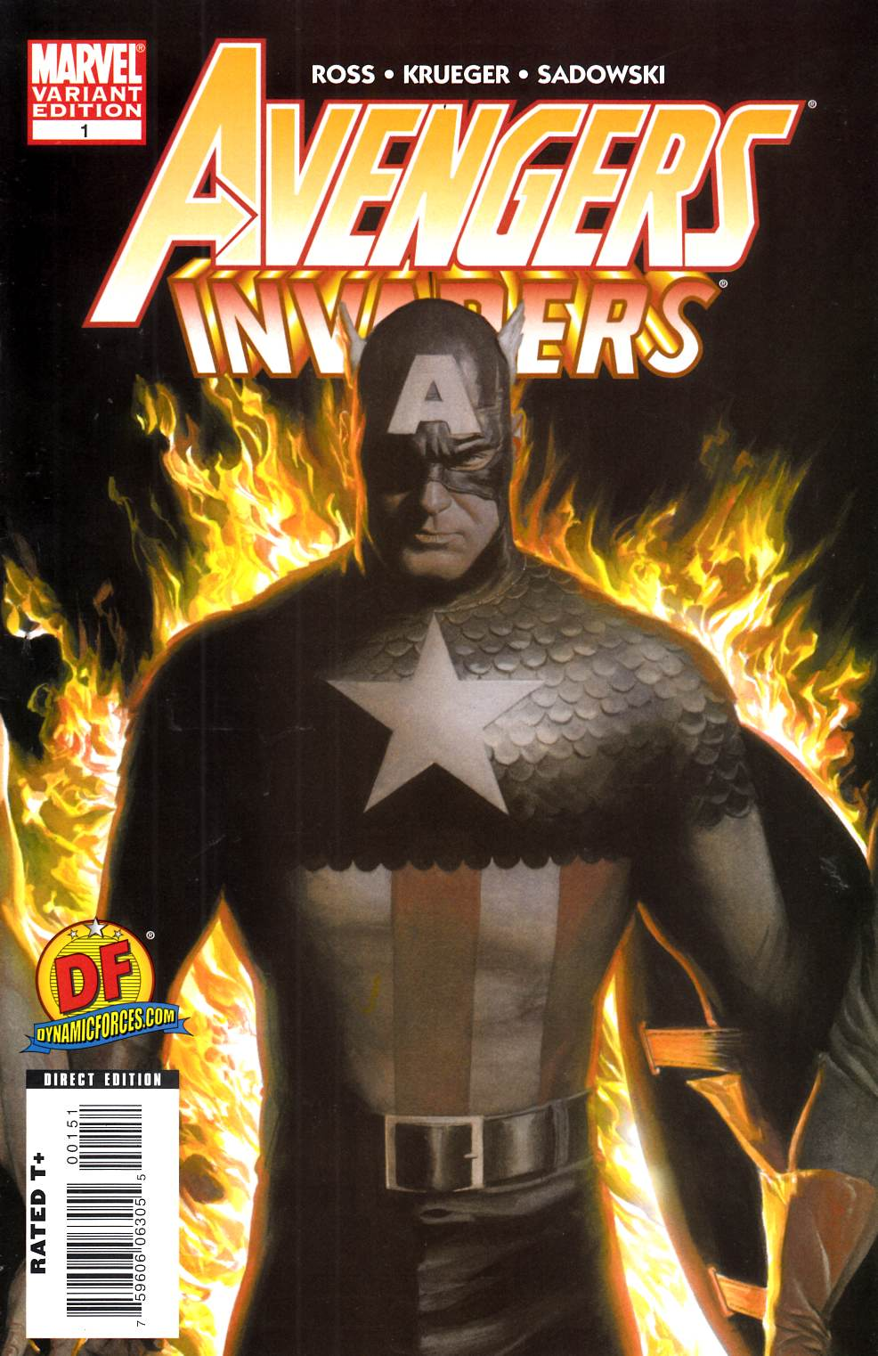 Avengers Invaders #1 DF Exclusive Variant Cover Near Mint (9.4) [Marvel Comic] THUMBNAIL