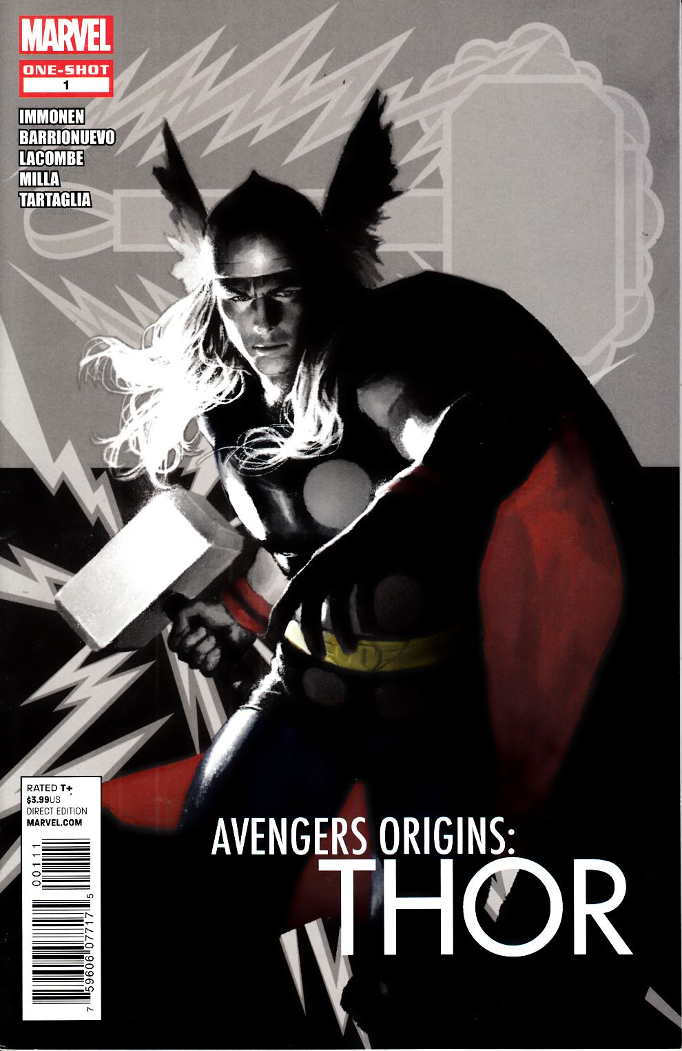 Avengers Origins Thor #1 Very Fine (8.0) [Marvel Comic] THUMBNAIL