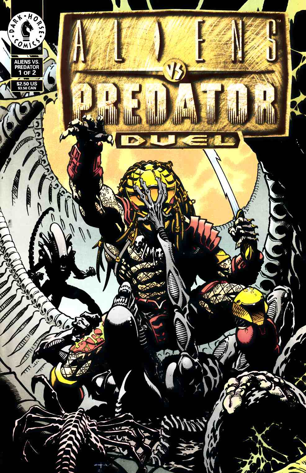 Aliens vs Predator Duel #1 Very Fine (8.0) [Dark Horse Comic] THUMBNAIL