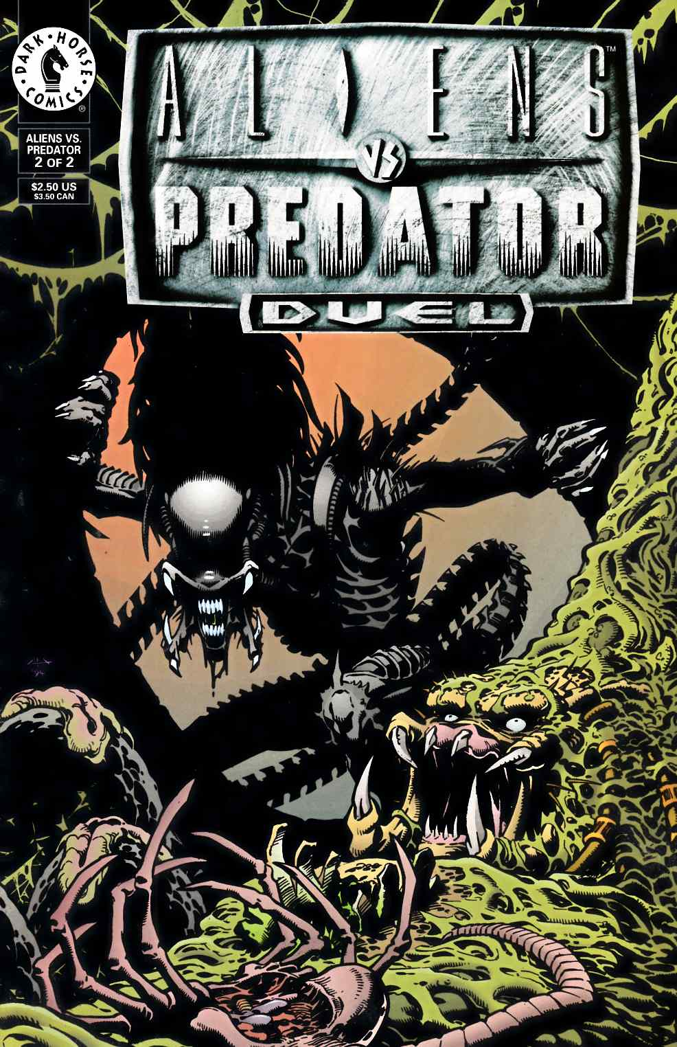 Aliens vs Predator Duel #2 Near Mint (9.4) [Dark Horse Comic] THUMBNAIL
