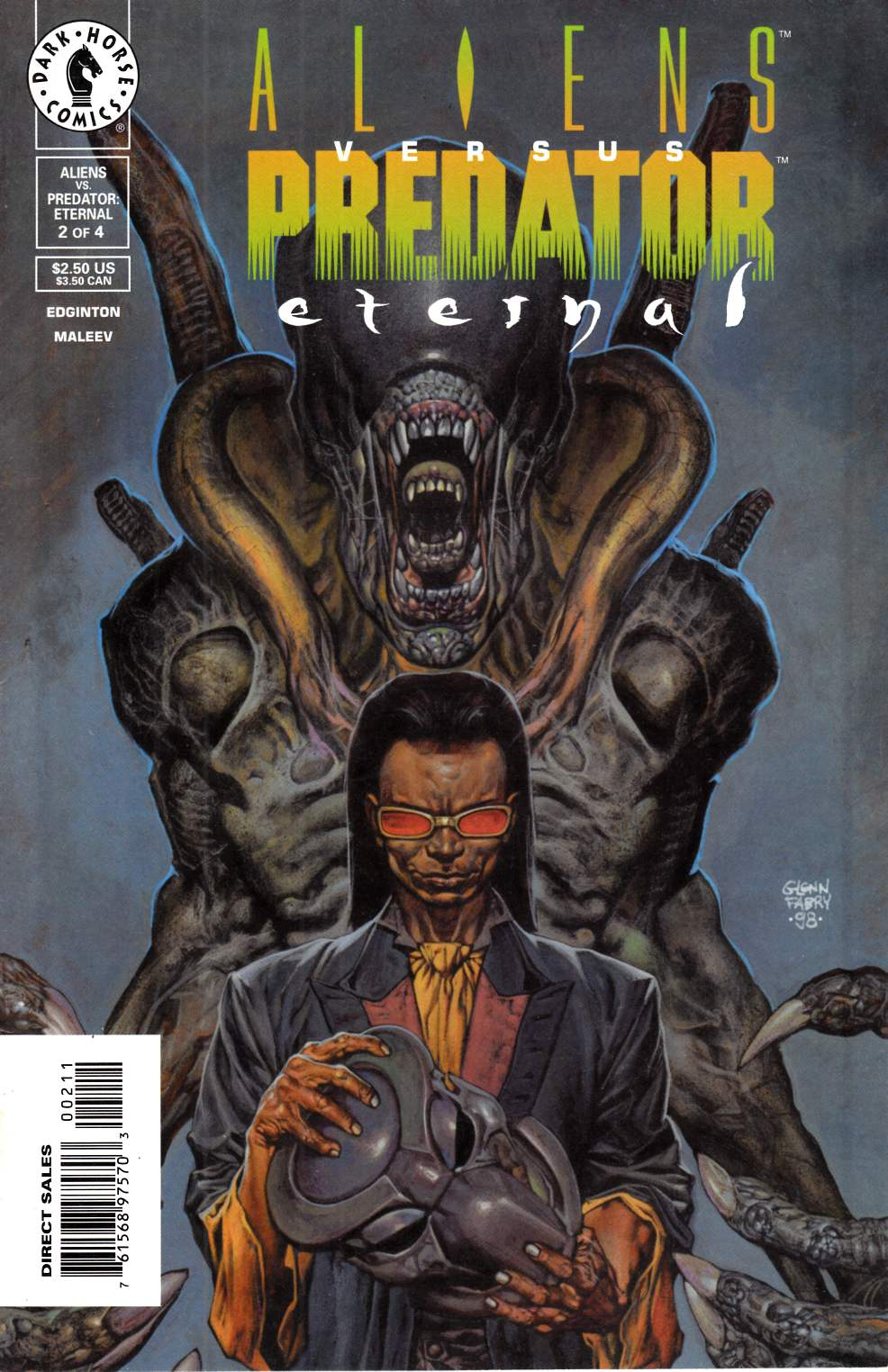 Aliens vs Predator Eternal #2 Near Mint Minus (9.2) [Dark Horse Comic] THUMBNAIL
