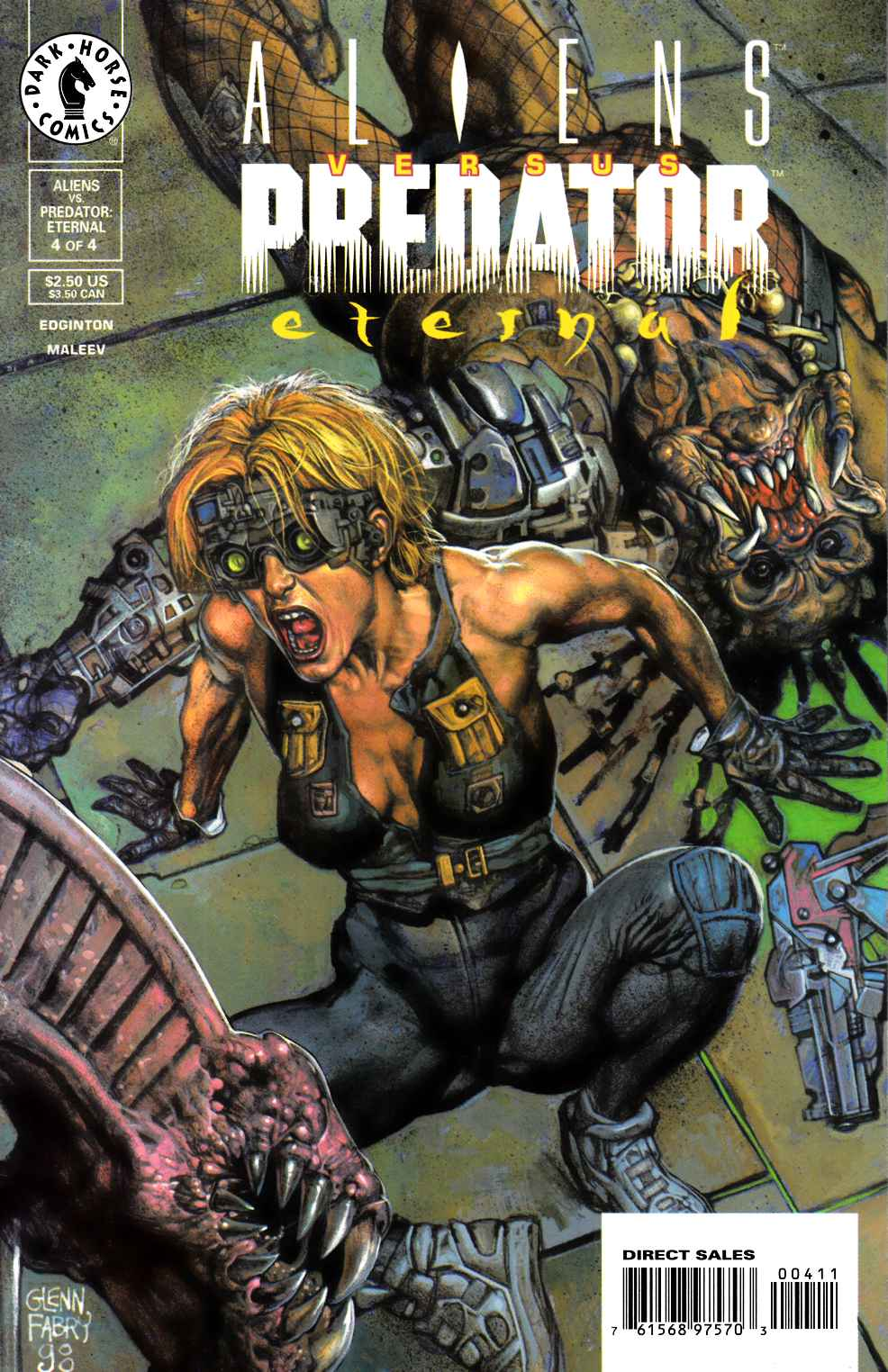 Aliens vs Predator Eternal #4 Near Mint (9.4) [Dark Horse Comic] THUMBNAIL